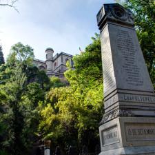 El obelisco de Chapultepec