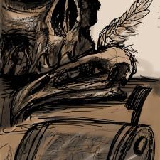 El guardián del vergel, ese aterrador arte de contemplar algo que se extingue